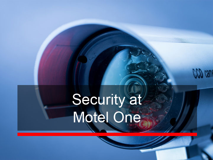 Security at Motel One
